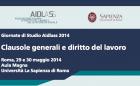 Giornate di Studio Aidlass 2014   Clausole generali e diritto del lavoro